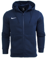 Bluza Nike z kapturem Team Club FZ Hoody Junior 658499 451
