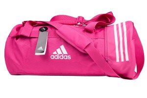 Torba adidas Convertible 3 Stripes Duffel Bag DT8658 roz.M