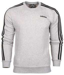Bluza męska adidas Essentials 3 S Crew French Terry DU0486