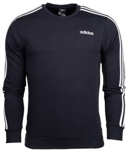 Bluza męska adidas Essentials 3 S Crew French Terry DU0484