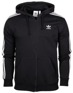 Bluza męska adidas Originals Trefoil 3 Stripes Full Zip DV1551