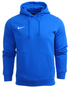 Bluza Nike z kapturem junior bawelniana Team Club Hoody 658500 463