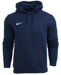 Bluza Nike z kapturem junior bawelniana Team Club Hoody 658500 451