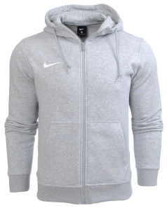 Bluza Nike z kapturem Team Club FZ Hoody Junior 658499 050